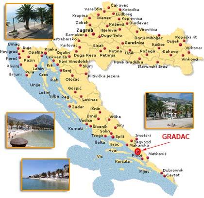Villa Ivanka Makarska Rivijera Gradac Crotravel Turistički Portal